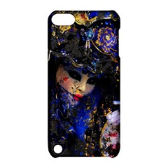 Mask Carnaval Woman Art Abstract Apple Ipod Touch 5 Hardshell Case With Stand by Nexatart