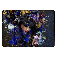 Mask Carnaval Woman Art Abstract Samsung Galaxy Tab 10 1  P7500 Flip Case