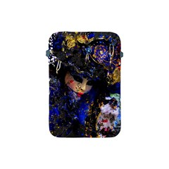 Mask Carnaval Woman Art Abstract Apple Ipad Mini Protective Soft Cases by Nexatart