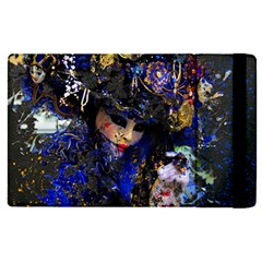 Mask Carnaval Woman Art Abstract Apple Ipad Pro 12 9   Flip Case