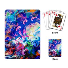 Background Art Abstract Watercolor Playing Card by Nexatart
