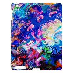 Background Art Abstract Watercolor Apple Ipad 3/4 Hardshell Case by Nexatart