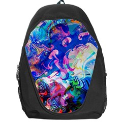 Background Art Abstract Watercolor Backpack Bag by Nexatart