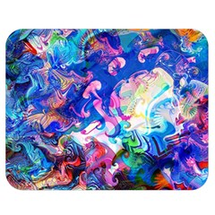 Background Art Abstract Watercolor Double Sided Flano Blanket (medium)  by Nexatart