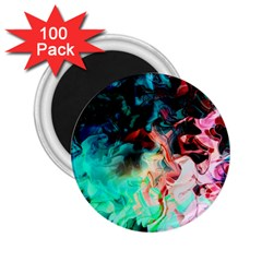 Background Art Abstract Watercolor 2 25  Magnets (100 Pack)  by Nexatart