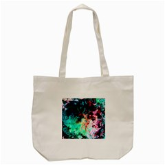 Background Art Abstract Watercolor Tote Bag (cream)