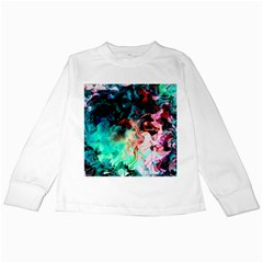 Background Art Abstract Watercolor Kids Long Sleeve T-shirts
