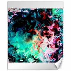 Background Art Abstract Watercolor Canvas 11  X 14