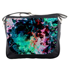 Background Art Abstract Watercolor Messenger Bags by Nexatart