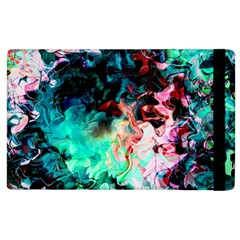 Background Art Abstract Watercolor Apple Ipad 3/4 Flip Case by Nexatart