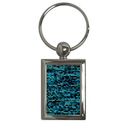 Wall Metal Steel Reflexions Key Chains (rectangle)  by Nexatart