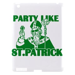 St  Patricks Day  Apple Ipad 3/4 Hardshell Case (compatible With Smart Cover) by Valentinaart