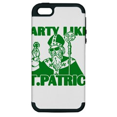 St  Patricks Day  Apple Iphone 5 Hardshell Case (pc+silicone) by Valentinaart