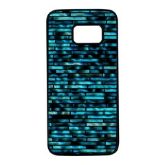 Wall Metal Steel Reflexions Samsung Galaxy S7 Black Seamless Case