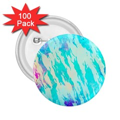 Blue Background Art Abstract Watercolor 2 25  Buttons (100 Pack)