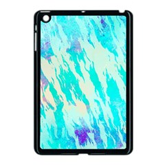 Blue Background Art Abstract Watercolor Apple Ipad Mini Case (black) by Nexatart