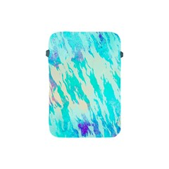 Blue Background Art Abstract Watercolor Apple Ipad Mini Protective Soft Cases by Nexatart
