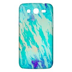 Blue Background Art Abstract Watercolor Samsung Galaxy Mega 5 8 I9152 Hardshell Case  by Nexatart