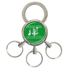St  Patricks Day  3 Ring Key Chains by Valentinaart