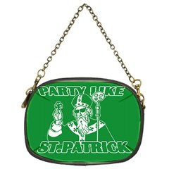 St  Patricks Day  Chain Purses (one Side)  by Valentinaart