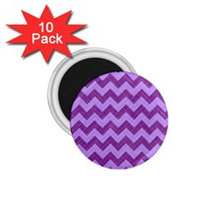Background Fabric Violet 1 75  Magnets (10 Pack)  by Nexatart