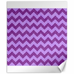 Background Fabric Violet Canvas 8  X 10  by Nexatart