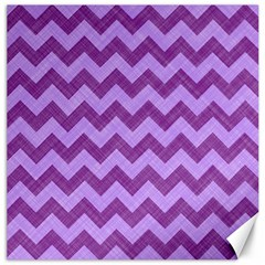 Background Fabric Violet Canvas 16  X 16