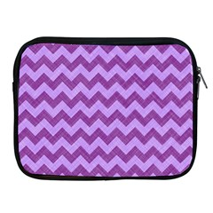 Background Fabric Violet Apple Ipad 2/3/4 Zipper Cases by Nexatart