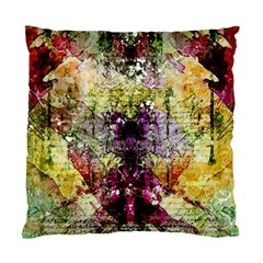Background Art Abstract Watercolor Standard Cushion Case (two Sides) by Nexatart