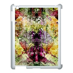 Background Art Abstract Watercolor Apple Ipad 3/4 Case (white) by Nexatart