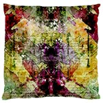 Background Art Abstract Watercolor Large Flano Cushion Case (Two Sides) Back
