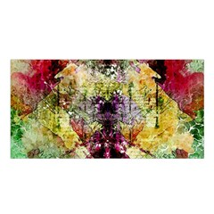 Background Art Abstract Watercolor Satin Shawl