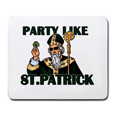St  Patricks Day  Large Mousepads by Valentinaart