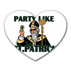 St  Patricks Day  Heart Mousepads