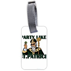 St  Patricks Day  Luggage Tags (one Side)  by Valentinaart