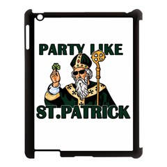 St  Patricks Day  Apple Ipad 3/4 Case (black) by Valentinaart