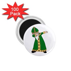 St  Patrick  Dabbing 1 75  Magnets (100 Pack)  by Valentinaart