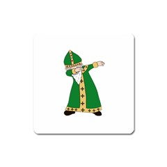 St  Patrick  Dabbing Square Magnet