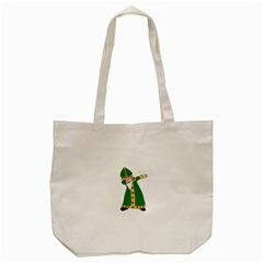 St  Patrick  Dabbing Tote Bag (cream)