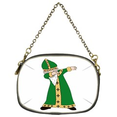 St  Patrick  Dabbing Chain Purses (one Side)  by Valentinaart