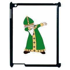 St  Patrick  Dabbing Apple Ipad 2 Case (black) by Valentinaart