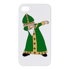 St  Patrick  Dabbing Apple Iphone 4/4s Premium Hardshell Case by Valentinaart