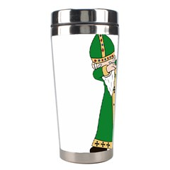 St  Patrick  Dabbing Stainless Steel Travel Tumblers by Valentinaart