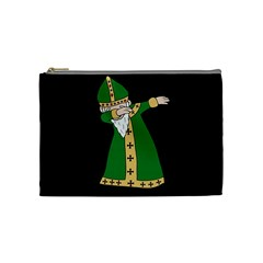 St  Patrick  Dabbing Cosmetic Bag (medium)  by Valentinaart