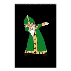 St  Patrick  Dabbing Shower Curtain 48  X 72  (small)  by Valentinaart