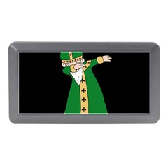 St  Patrick  Dabbing Memory Card Reader (mini) by Valentinaart