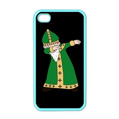 St  Patrick  Dabbing Apple Iphone 4 Case (color) by Valentinaart