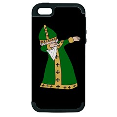 St  Patrick  Dabbing Apple Iphone 5 Hardshell Case (pc+silicone) by Valentinaart