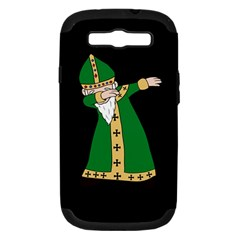 St  Patrick  Dabbing Samsung Galaxy S Iii Hardshell Case (pc+silicone) by Valentinaart