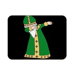 St  Patrick  Dabbing Double Sided Flano Blanket (mini)  by Valentinaart